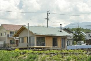 丘の上の小さな家
