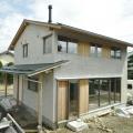 《塩尻市》4人家族で住む土壁の家 完成見学会
