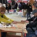 《御代田町》「冬のあったかふれあいマルシェ」出店~日本の木で『箸作り』ワークショップ~